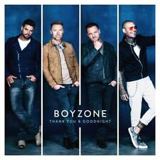 BOYZONE THANK YOU & GOODNIGHT CD - NEW RELEASE NOVEMBER 2018