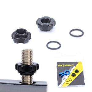 Bike Valve Adapter Schrader to Presta Valve Adaptor Converter Convert Nut