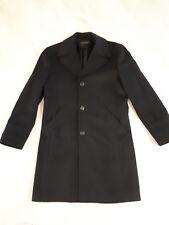 Mantel schwarz für Männer Gr. 98 von pearlwood, Länge 98 cm