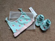 Cath Kidston Kids Hat and Bootie Set BNWT