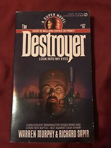 Look into My Eyes (The Destroyer, No. 67) 1st Printing