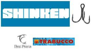 Ancorette da Pesca - TRABUCCO SHINKEN ST-46BN serie 5646 - 2x STRONG - misura 10