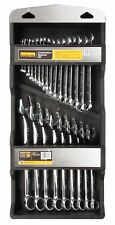 Halfords 25 Piece Combination Spanner Set Tool Box Chrome Vanadium Steel