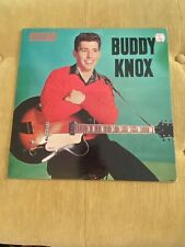 Buddy Knox; Roulette 25003; White DG label; Early copy; TOP COPY rockabilly