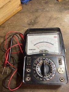 vintage multi meter TTC Model C-1069