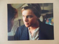 "Leonardo DiCaprio Signed /Autographed Photo ""Wall Street"""