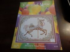 Just Cross Stitch Carousel Horse Spring Leaflet 2  #3279