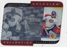 MINT! 1996-97 UD SP HOLOVIEW COLLECTION NO. HC11 JOCELYN THIBAULT CANADIENS