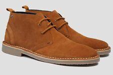 Mens Original Ben Sherman /'HUNT/' Real Suede Desert Boots