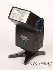 Vivitar 550 FD Auto Thyristor Blitzgerät für Canon EOS Analog Kameras 51315-13