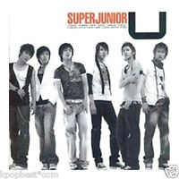 Super Junior - U (1st Single Album) (1CD + Gift Photo)