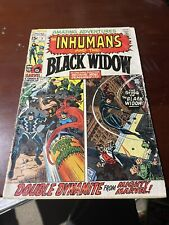 Amazing Adventures #1 (Aug 1970, Marvel) 1st Black Widow Solo Story Key Issue