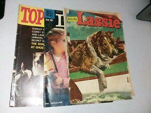 Lassie 3 Issue Golden Silver Age Dell Comics Lot Run Set Tv Show collection
