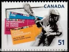 Canada postfris 2006 MNH 2345 - WK Lacrosse