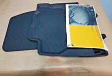 Juego 4 Alfombrillas Originales Renault Captur 2013-2018 Goma 3D a medida