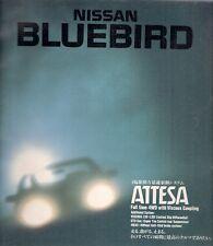 Nissan Bluebird 1987-88 Japanese Market JDM Sales Brochure Attesa SSS Select XE