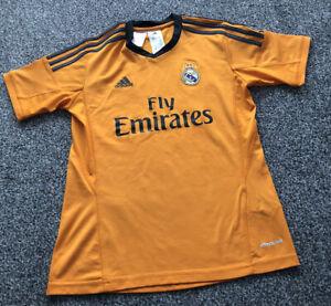 Adidas Real Madrid 3rd Third Football Shirt 2013/2014 Kids Size Age 11-12 Years