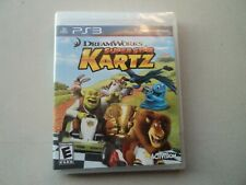 New Sealed PS3 Playstation 3 DreamWorks Super Star Kartz Video Game NIP