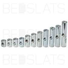 BOX OF 100 6mm x 100mm FURNITURE BOLT /& BARREL NUT FOR ASSEMBLY OF COTS BEDS *