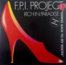 "F.P.I PROJECT-RICH IN PARADISE - 12"" MAXI-k1203 - - Slavati & cleaned"