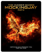 THE HUNGER GAMES - MOCKINGJAY PT2 (Blu-ray Steelbook) (New)