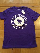 Youth's Purple Abercrombie & Fitch T Shirt