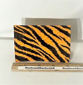 Vintage Enco/Esso Gas 'Put a Tiger in Your Tank' Tiger Business Card Holder