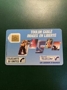 Telecarte publique F 22 toulon cable