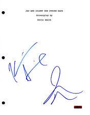 Jay and Silent Bob * KEVIN SMITH & JASON MEWES * Signed Full Movie Script J2 COA
