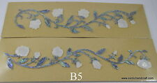 1 set inlay paua, mother of pearl shell blanks guitar bass vine fretboard B5