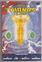 The Thanos Quest Book 2 NM- Newsstand Jim Starlin Marvel Comics 2nd Print WP