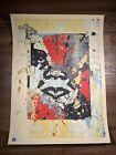 "Shepard Fairey Obey Giant ""Enhanced Disintegration Red"" Art Print Signed XX/350"