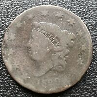 1829 Large Cent Coronet Head One Cent 1c Circulated  #2262