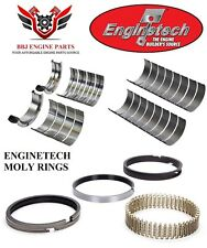 ENGINETECH FORD 351M MODIFIED 400 V8 ROD MAIN BEARINGS AND MOLY RINGS 77 - 82