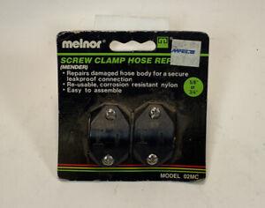 Melnor Screw Clamp Hose Repair Mender 5/8 Or 3/4 Inch Hose Model 02MC NIB