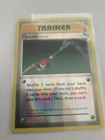 Maintenance - 79/108 - Uncommon Reverse Holo Pokemon Evolutions NM/M, Pack Fresh