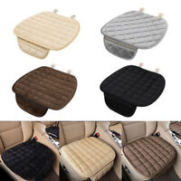 Winter Plush Anti Slip Car Seat Cover Pad Lattice Pattern Auto Chair Cushion EL
