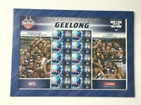 AD199) Australia 2007 Geelong Cats AFL Premiers Sheetlet MUH Collectable