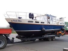 Stahlschiff Gebr. Visser (NL) Knickspant Verdränger Motorboot