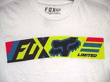 Fox Racing Mens Limited Logo Short Sleeve Tee Motocross T-Shirt MX Apparel Sm