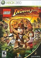 LEGO Indiana Jones: The Original Adventures (Microsoft Xbox 360, 2008)