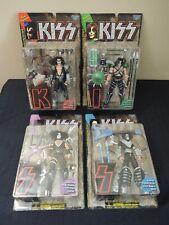 Kiss~Lot Of 4 McFarlane 1997 Ultra-Action Figures