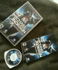 Michael Jackson: The Experience PSP (PlayStation Portable, 2010) WOW visit store