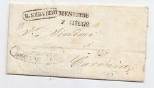 N790-SICILIA 1858-CIRCOLARE A STAMPA MESSINA/CARONIA