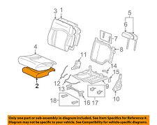 Hummer GM OEM 03-07 H2 Third Row Seat-Foam Cushion Pad 88940356