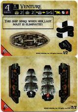 Wizkids Pirates Pocketmodel - Venture (Ship) PotSMU 027 C