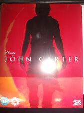 John Carter 3D Blu-ray Steelbook Region Free UK Zavvi Exclusive New Sealed OOP