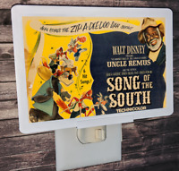 """Song of the South Disney Poster 4x6"""" Photo Night Light"""