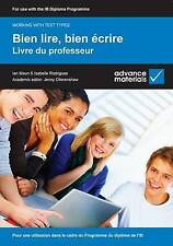 Bien lire, bien écrire Teacher's Book (Working with Text Types)-ExLibrary