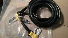 TurfCordz Safety Resistance exercise Cord #S126-R20 Yellow 5-14 lb 20' Tubing